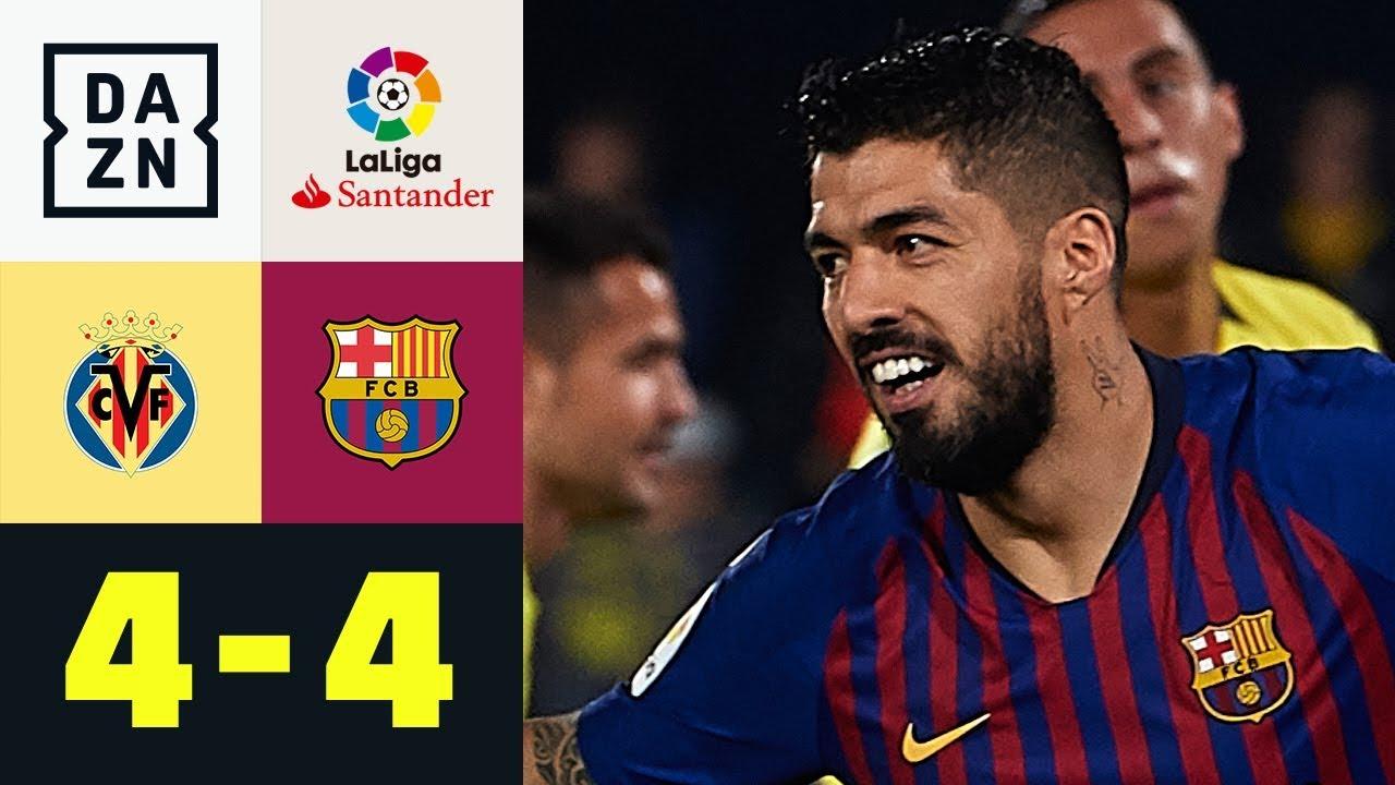 Download Luis Suarez krönt irre Barca-Aufholjagd: Villarreal - FC Barcelona 4:4 | La Liga | DAZN Highlights