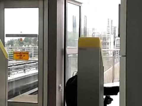 Metro de rennes( station la poterie)