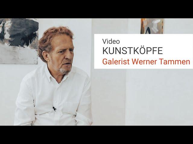 Galerist Werner Tammen - Galerienverband fordert eine Vision für die Kunstmetropole Berlin