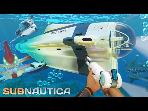Subnautica - BUILDING THE BEST SUBMARINE!! Subnautica Part 6 Gameplay! (Subnautica Gameplay)