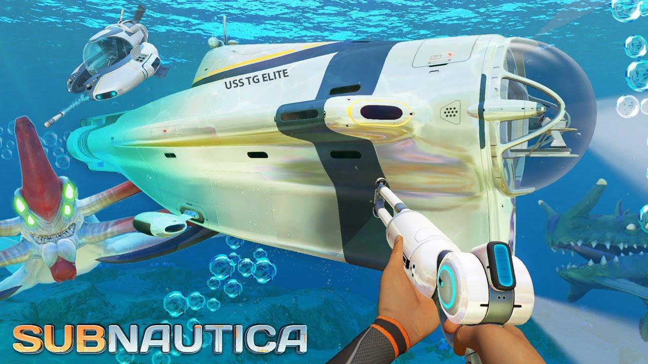 Subnautica Building The Best Submarine Subnautica Part