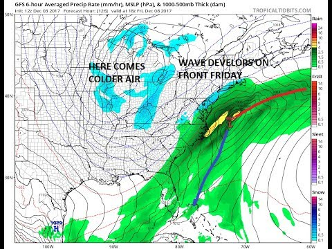 WINTER PATTERN SETTING UP NEXT FEW WEEKS AS DEEP TROUGH IN THE EAST BRINGS COLD AIR