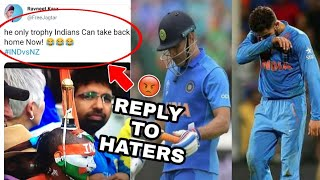 India Vs New Zealand Semi Final || Reply To Haters || Kal Ka Londa
