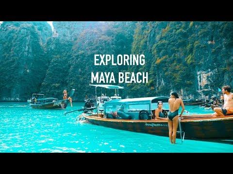 Thailand Travel | Trip to Koh Phi Phi island holidays travel resort | Maya Beach Exploration | ep 3