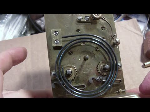French Carriage Clock bought on internet, chime not working