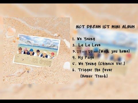 NCT DREAM 'WE YOUNG' 1st MINI ALBUM  [ 3D Use Headphones ] Mp3
