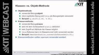 Lektion 04, Programmieren, 10.11.2014, Vorlesung, WS 2014/15