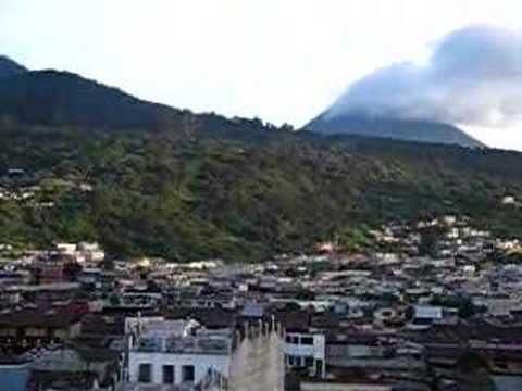 Xela Volcano View