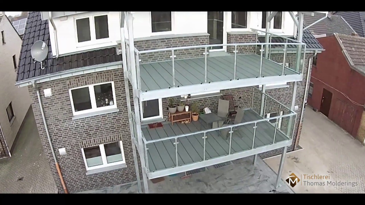 alpha wing balkonb den aus kunststoff youtube. Black Bedroom Furniture Sets. Home Design Ideas