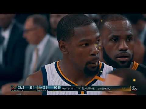 All FIGHTS/HEATED moments in the 2017 NBA Finals MIX