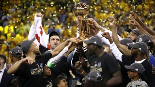 Golden state warriors beat cleveland cavaliers to win nba championship