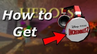[EVENT] Roblox Heroes - How to get theIncredibles 2 Headphones
