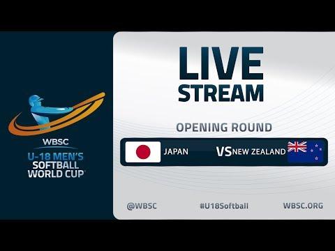 Japan V New Zealand - U-18 Men's Softball World Cup 2020 - Opening Round