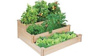 Greenes Rc4t3 3 Tier Cedar Raised Garden Bed