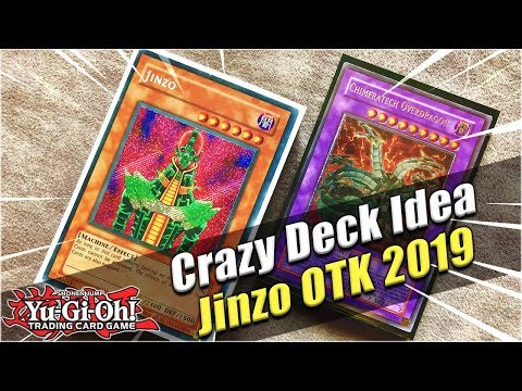 Yu-Gi-Oh Crazy Deck Idea! Jinzo Troop Dupe Scoop Machine OTK Deck Profile 2019