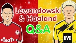 🔴Lewandowski & Haaland: Q&A!🟡