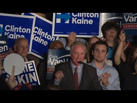 DEMOCRAT HQ REACTION: Senator-elect Chris Van Hollen wins Sen. Barbara Mikulski