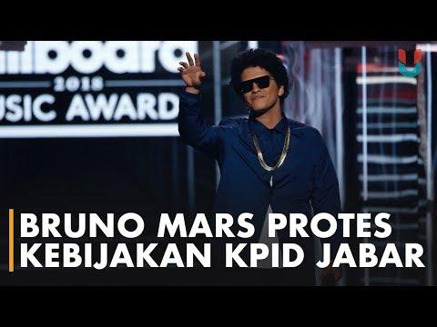 Bruno Mars Protes Pembatasan Jam Pemutaran Dua Lagunya di Jabar Mp3