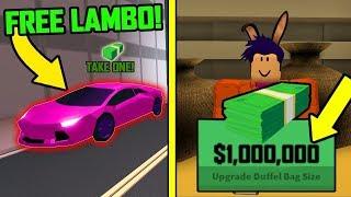 Roblox Jailbreak Banka Soygunu Yaptık! Para Kastık!?!?