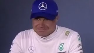 """""""And Valtteri your thoughts?"""""""