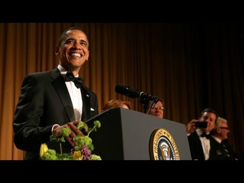 Obama Takes Jabs At Cable News At 2014 WHCD