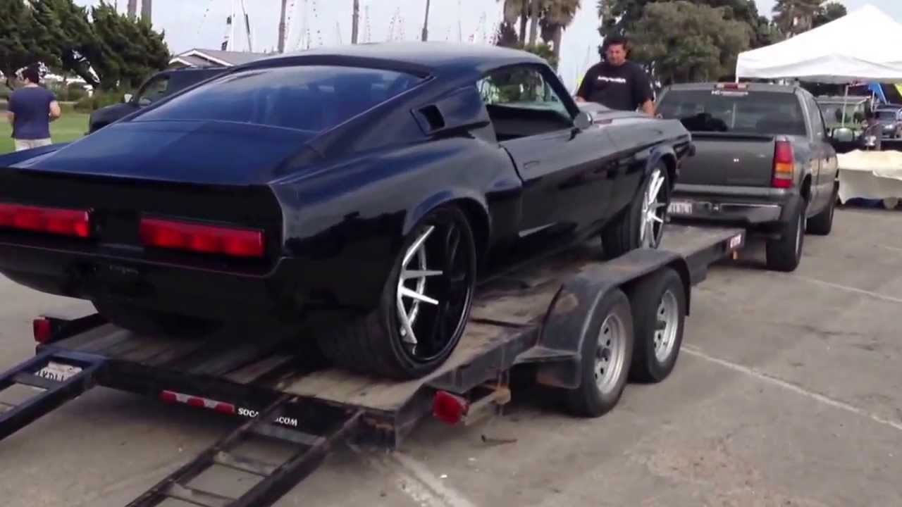 67 Mustang Elanor Custom Youtube