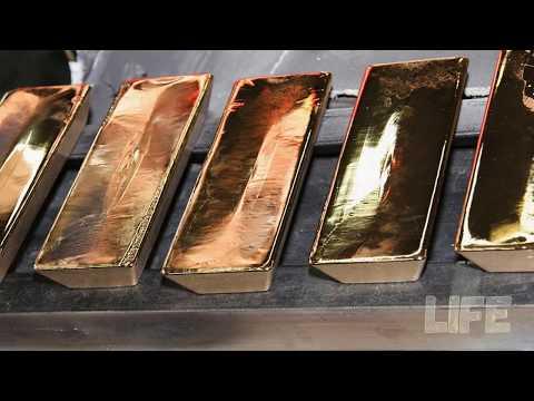 Куда пропал огромный запас золота СССР?