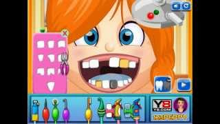 Naughty Girl at Dentist - Y8.com Online Games by malditha