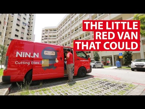 The Little Red Van That Could | Game Changers | CNA Insider
