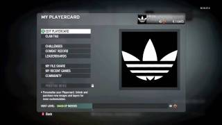 Video CoD Black Ops Emblem Tutorial Adidas Logo download MP3, 3GP, MP4, WEBM, AVI, FLV Juni 2018