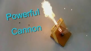 How To Make a Powerful Mini Cannon - Simple Cannon