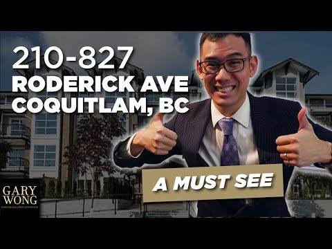 World's 1st STOP MOTION Listing | 210 - 827 Roderick Avenue, Coquitlam, BC
