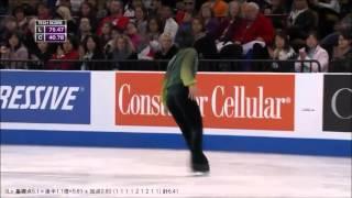 宇野昌磨さんの2015年スケートアメリカのフリースケーティング『Turando...
