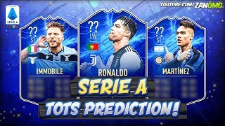 FIFA 20 | SERIE A TOTS PREDICTION!! 😱🔥 | FT. RONALDO, IMMOBILE, LAUTARO MARTINEZ...