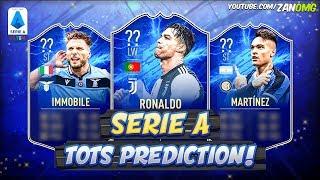 FIFA 20 | SERIE A TOTS PREDICTION!! ?? | FT. RONALDO, IMMOBILE, LAUTARO MARTINEZ...