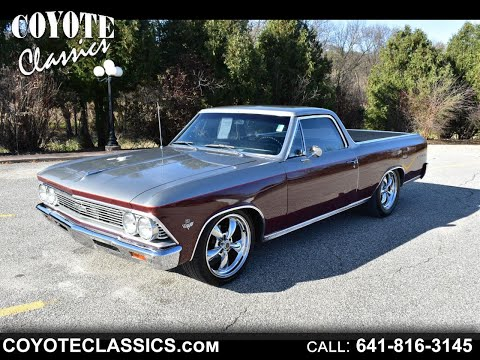 1966 El Camino For Sale At Coyote Classics