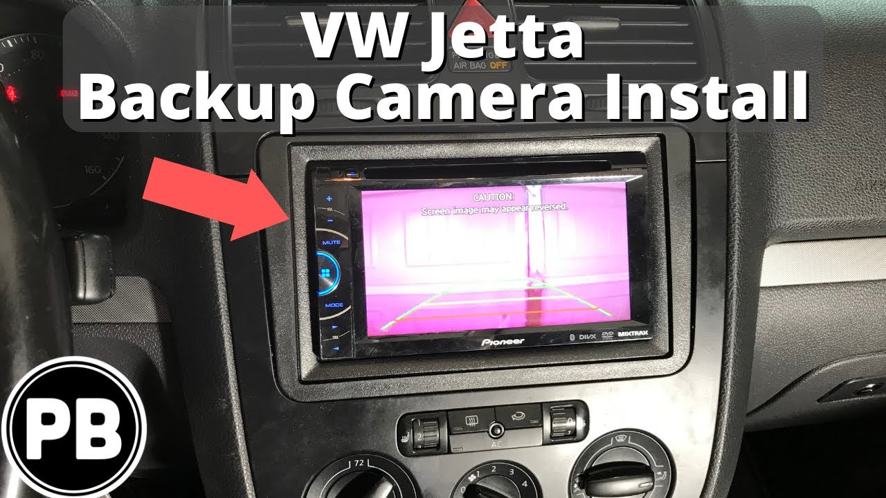 medium resolution of 2005 2010 vw jetta backup camera install provo beast audio installation