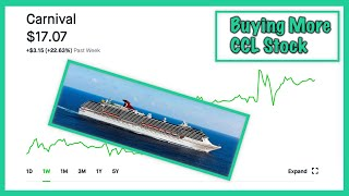 Why I'm Buying More Carnival Cruise Stock - Robinhood Investing