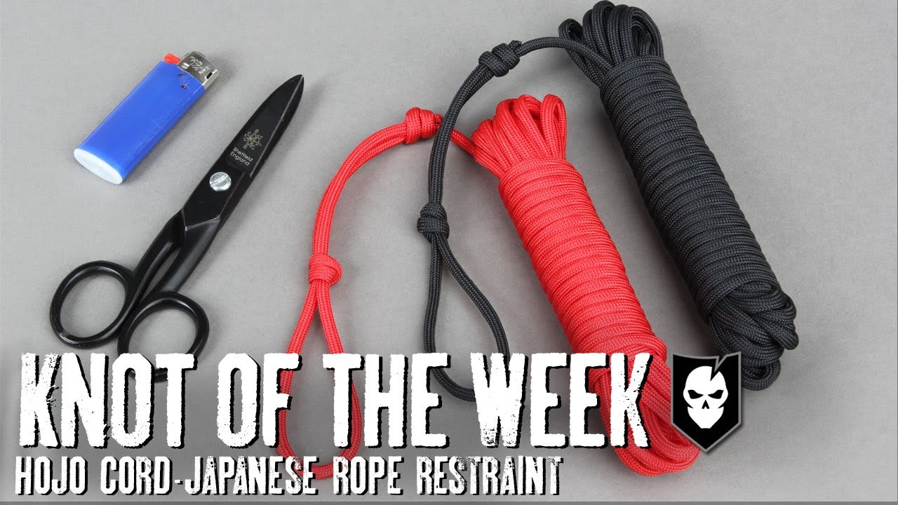 Japanese rope knots