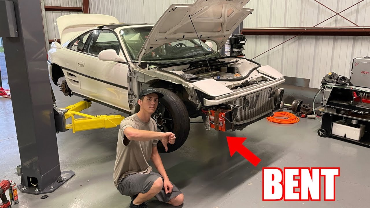 Damage On The Mr2 Was a Little Worse Than We Thought... - download from YouTube for free