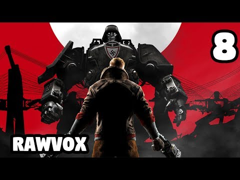 The Great Train Robbery! - Wolfenstein: The New Order #8
