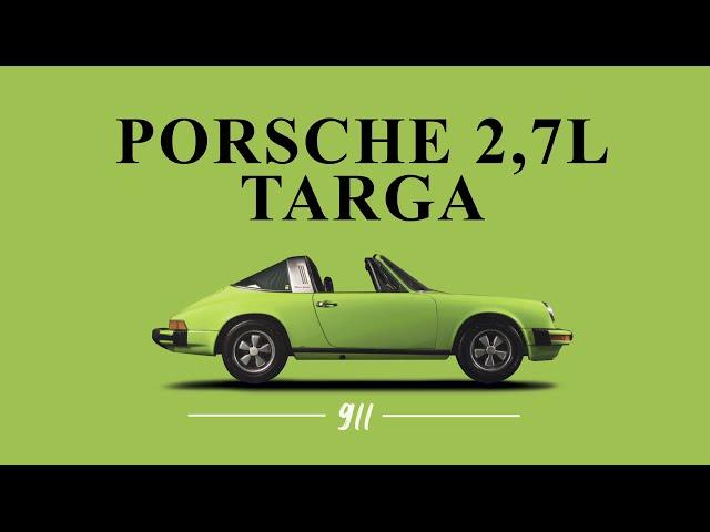 Porsche 911 2,7LS Targa 1975