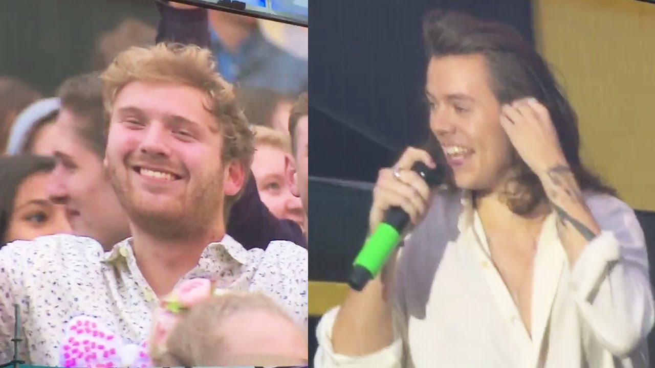 Harry Styles Calls Out Guy Who Stole His Girlfriend During Concert