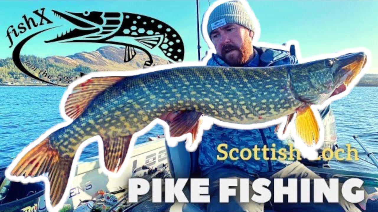 Scottish Loch - Guided fishing with FishX