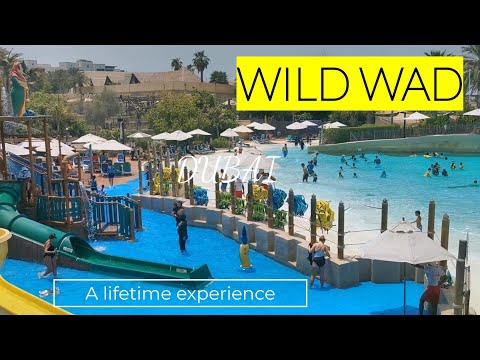 WADI WILD, DUBAI ! WORLDS TOP 10 WATER PARK ! A MUST VISIT PLACE !