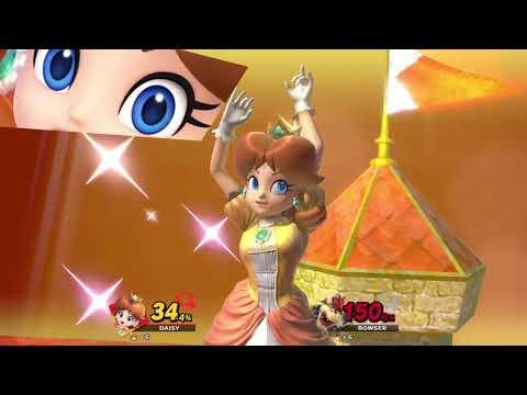 Super Smash Bros. Ultimate (Princess Daisy Vs. Bowser)
