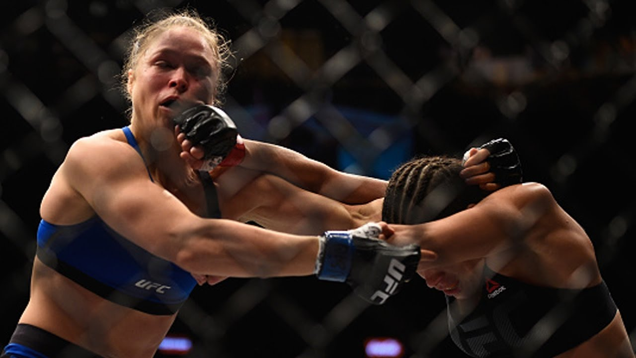 Rousey Vs Nunes Rousey Knocked Out Badly In Return Youtube