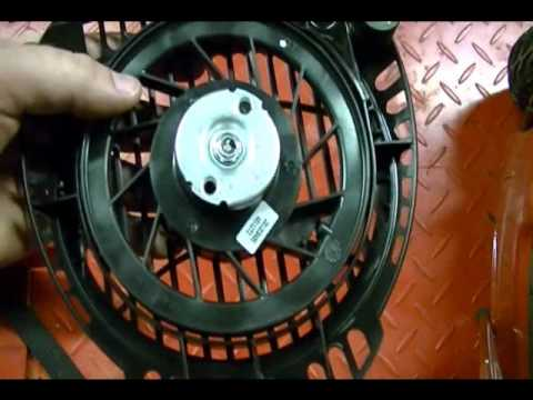 How to Replace the Pull Cord on a Toro Recycler Lawn Mower with a Kohler Courage XT Engine