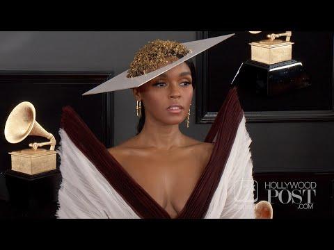 Janelle Monáe kills the red carpet at 61st GRAMMY Awards