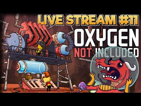 Wash Your Hands!! – Oxygen Not Included Gameplay – Live Stream Part 11